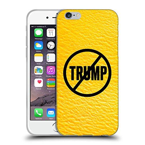"""Super Galaxy Coque de Protection TPU Silicone Case pour // Q04110540 Jamais Trump mangue // Apple iPhone 6 4.7"""""""