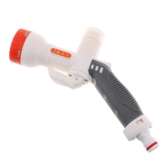 F Fityle 5 Compartimento de Espuma Chorro de Agua para Auto Lavado ...