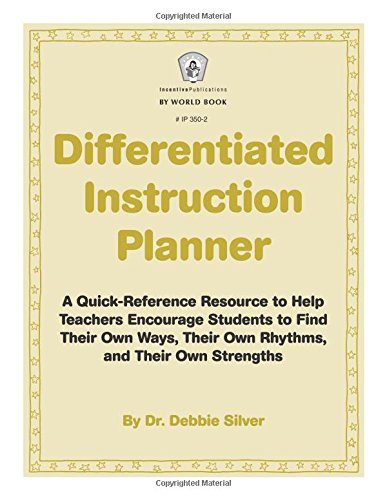 Differentiated Instruction Planner Latest And Greatest Teaching