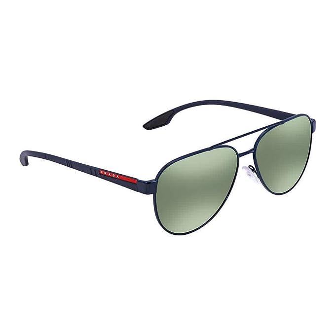 Prada Linea Rossa 0PS 54TS Gafas de sol, Blue, 58 para ...