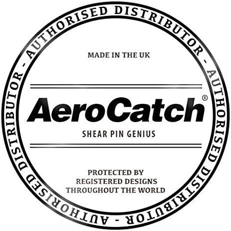 2 Piece Kit for Plus Flush Series AeroCatch Molded Fixing Nut Plates Part # 120-8500