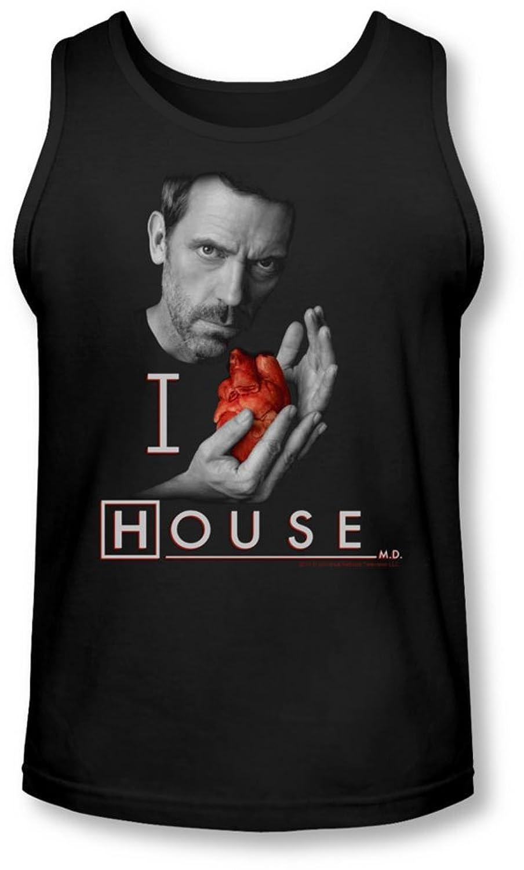 House - Mens I Heart House Tank-Top