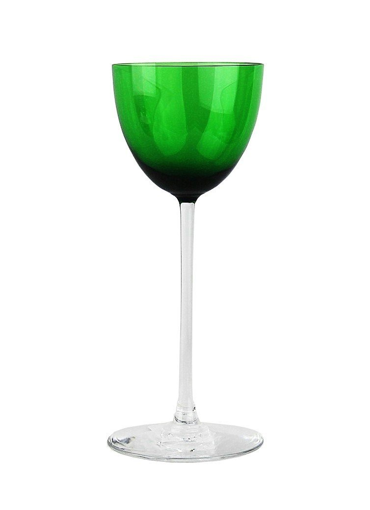 BACCARAT PERFECTION RHINE WINE EMERALD GREEN, BRAND NEW,100% AUTHENTIC