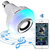 Texsens LED Light Bulb with Integrated Bluetooth Speaker (Small image)