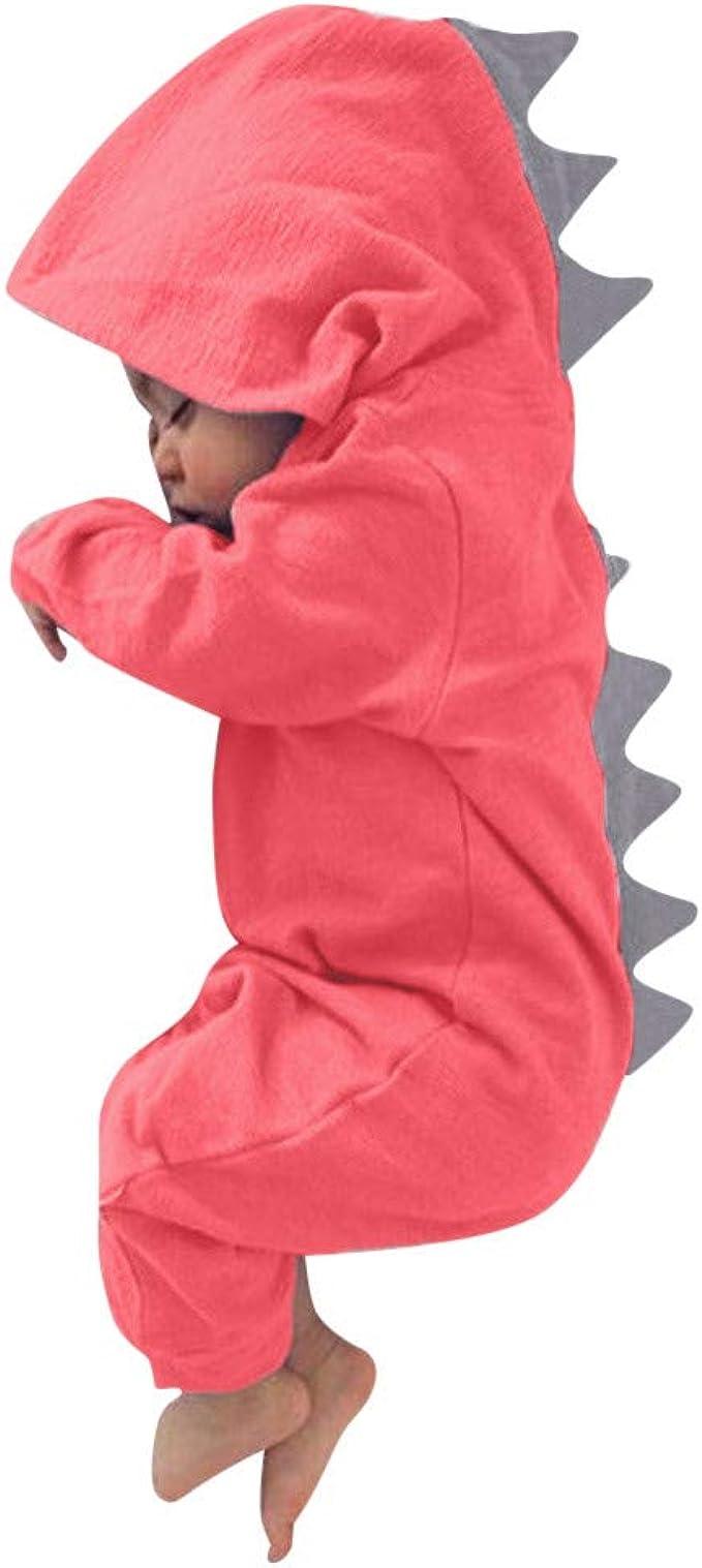 MSKKLA The Fierce Dinosaur Romper Unisex Baby Bodysuit One-Piece Jumpsuit Clothes for Baby Black