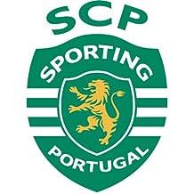 "Sporting Clube de Portugal Soccer Football Car Bumper Sticker Decal 4"" x 5"""