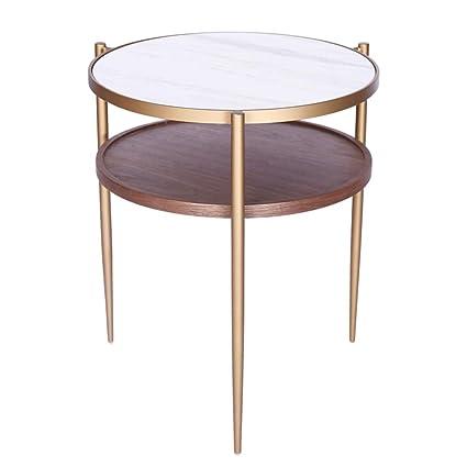 Admirable Amazon Com Zhirong Rivet Modern Metal Side Table 2 Layer Machost Co Dining Chair Design Ideas Machostcouk
