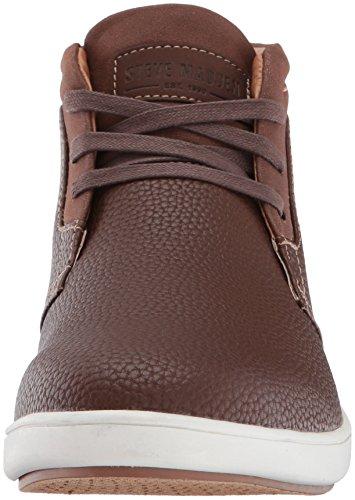 Steve Madden Mens Fenway Fashion Sneaker Brown