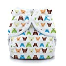 Thirsties Duo Wrap Snap, Hoot, Size One (6-18 lbs)