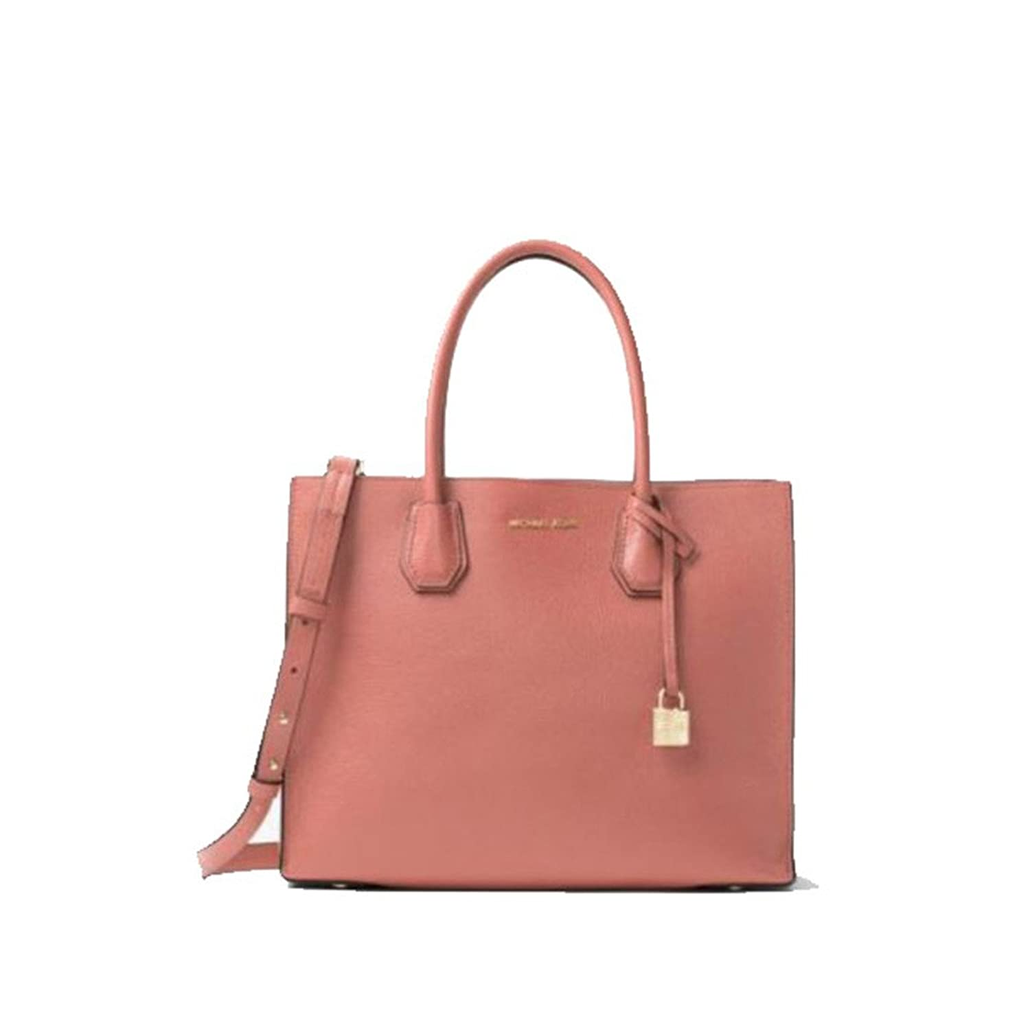 MICHAEL KORS MERCER LARGE BONDED-LEATHER TOTE ANTIQUE ROSE [並行輸入品] B01M3T8UAS