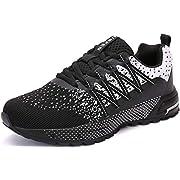 SOLLOMENSI Laufschuhe Herren Damen Sportschuhe Straßenlaufschuhe Sneaker Joggingschuhe Turnschuhe Walkingschuhe…