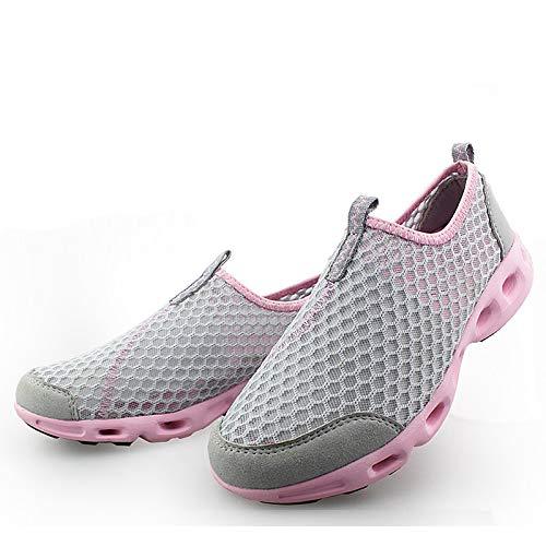 Blue Rosa Comfort ZHZNVX Toe Tulle Royal Fucsia Fall Mujer Fuchsia Round Zapatos Sneakers de Flat Heel Spring wqTZq1OSnx