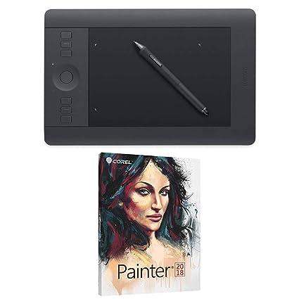 Amazon Com Wacom Intuos Pro Pen Touch Tablet Small Pth451 With