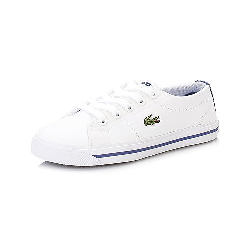 Lacoste Niños Blanco Marcel 316 1 Spc Zapatillas: Amazon.es: Zapatos y complementos
