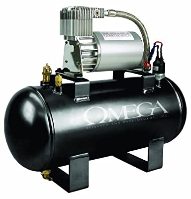 Omega 12V 1.5 Gallon Air Compressor