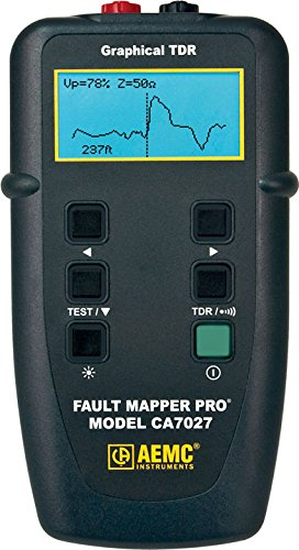 AEMC CA7027 Fault Mapper Pro Telephone Cable Tester with Graphical (Tdr Cable Tester)