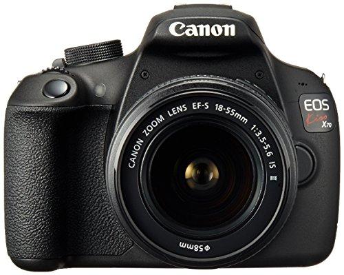 キヤノン イオスキス X70 ブラック レンズキット EFS1855mm F3.55.6 IS IIの商品画像