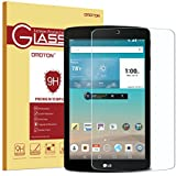 LG G Pad F 8.0 Glass Screen Protector, OMOTON Tempered-Glass Protector with [9H Hardness] [Crystal Clearity] [Scratch-Resistant] [No-Bubble Easy Installation] for LG G Pad F 8.0, Lifetime Warranty