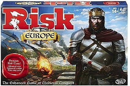 Hasbro HASB7409 Risk Europe Juego de Tablero: Amazon.es: Juguetes ...