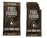 Fuel Fudge – Sugar-Free Superfood Chocolate Bar – Keto, Grass-Fed Ghee, Coconut Oil, Collagen, Turmeric, Maca (Espresso, Single Packet)