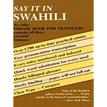 Say It in Swahili (Dover Language Guides Say It Series)