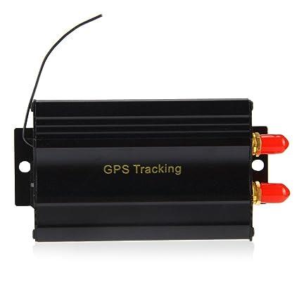 TK103B GPS SMS GPRS vehículo Tracker Localizador de alarma Control ...
