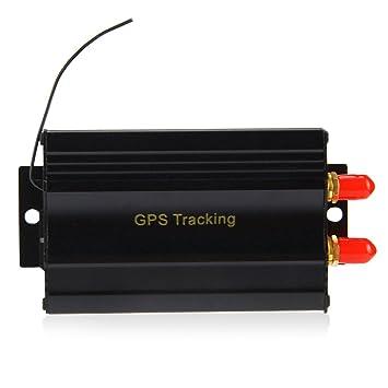 TK103B GPS SMS GPRS vehículo Tracker Localizador de alarma ...