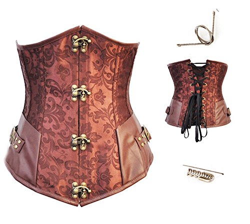 Beautface Makeup corsets New Black and White red Two-Color Vest Body Suit Belly Corset (Halloween Makeup Pinterest)