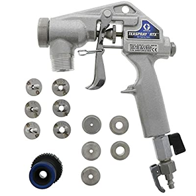 Graco Texture Spray Gun 24S134 with 12 Tips for RTX-1500, RTX-2000pi, RTX-5000pi
