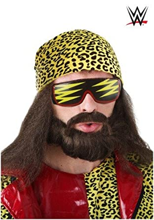 Fun Costumes mens Randy Savage Wig Kit Standard