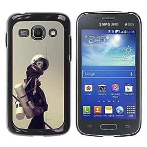 EJOY---Cubierta de la caja de protección la piel dura para el / Samsung Galaxy Ace 3 / --Astronauta Esqueleto