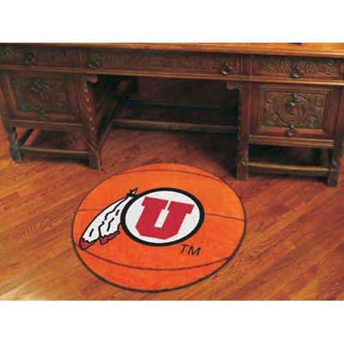 "Utah Runnin Utes NCAA ""Basketball"" Round Floor Mat (29"")"