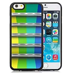 NEW DIY Unique Designed iPhone 6 4.7 Inch TPU Phone Case For White Shelves with Colored Background Phone Case Cover