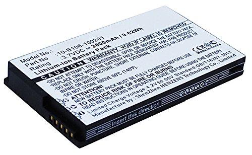 Widefly 10-B106-100201 Battery Replacement - (Li-Ion, 3.7V, 2600mAh) Ultra Hi-Capacity Battery by Synergy Digital
