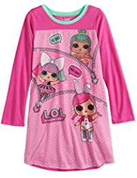 lol surprise girls long sleeve nightgown pajamas - Girls Christmas Nightgowns