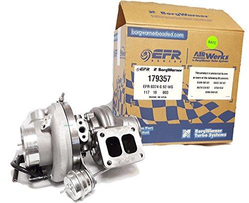 Borg Warner EFR Turbo 8374 T4 Divided.92 A/R (Twin Scroll), 800+ HP, P/N 179357