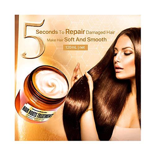 Cibee Advanced Molecular Hair Treatment Masks Hair Roots Treatment 5 Seconds to Repair Damaged Hair (120ml, A)