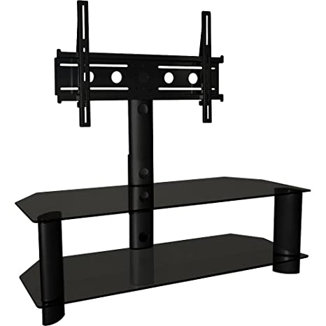 Amazon Com Techcraft Trk50b 48 Inch Wide Flat Panel Tv Stand With