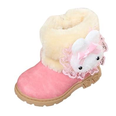 9feef3479bbdf Amazon.com: Gooldu Baby Boots,Children's Snow Boots Girls Boots Baby ...