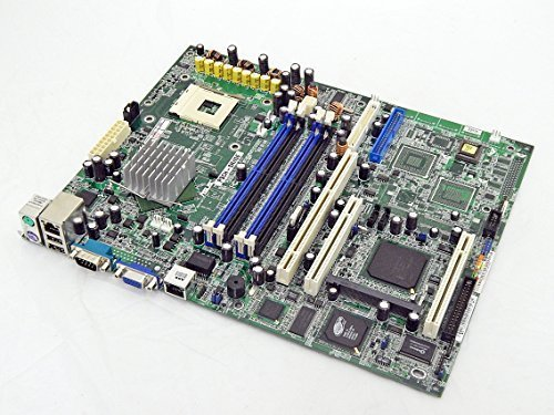 NEW ASUS PSCH-SR/IDE rev. 1.05 INTEL E7210 P4 Socket-478 DDR SATA ATX Server Motherboard with Dual 1000Mbps LAN (Motherboard Only) (478 Pentium Motherboard 4 Socket)