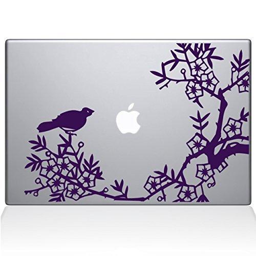 【現金特価】 The Decal Guru 0164-MAC-13X-LAV Purple Asian Blooms B0788GFDTB and & Woodland Motifs Vinyl Sticker 13 Macbook Pro (2016 & newer) Purple [並行輸入品] B0788GFDTB, もっとeガス:6e45c84b --- a0267596.xsph.ru