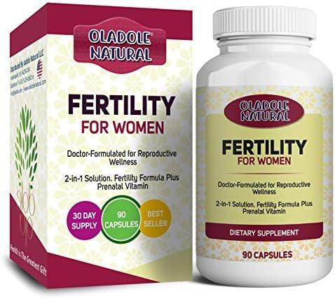 خصوبة طبيعية للنساء دعم دورة ما قبل الحمل والتبويض متعددة الفيتامينات بما في ذلك فيتامينات A وفيتامين C وفيتامين D وb6 وb12 وحمض الفوليك وأكثر من 90 كبسولة Amazon Ae