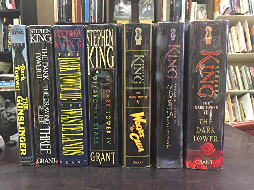 Complete Dark Tower Series (Gunslinger, Drawing of the Three, Waste Lands, Wizard and Glass, Wolves of the Calla, Song of Susannah Dark Tower)