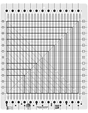 Creative Grids Stripology Squared Quilt Ruler Template Non Slip