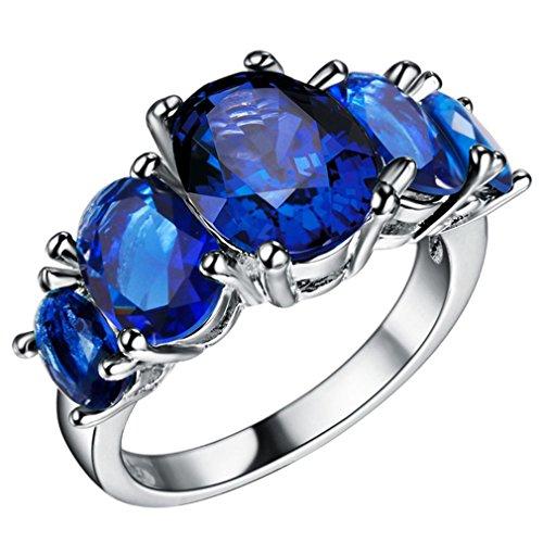 ULAKY Diamond Engagement Ring for Women