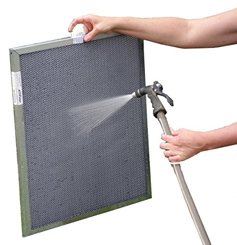 12x30x1 Electrostatic Washable Permanent A/C Furnace Air Filter - Reusable - Silver Frame - Lifetime - Electrostatic Filter Aircare