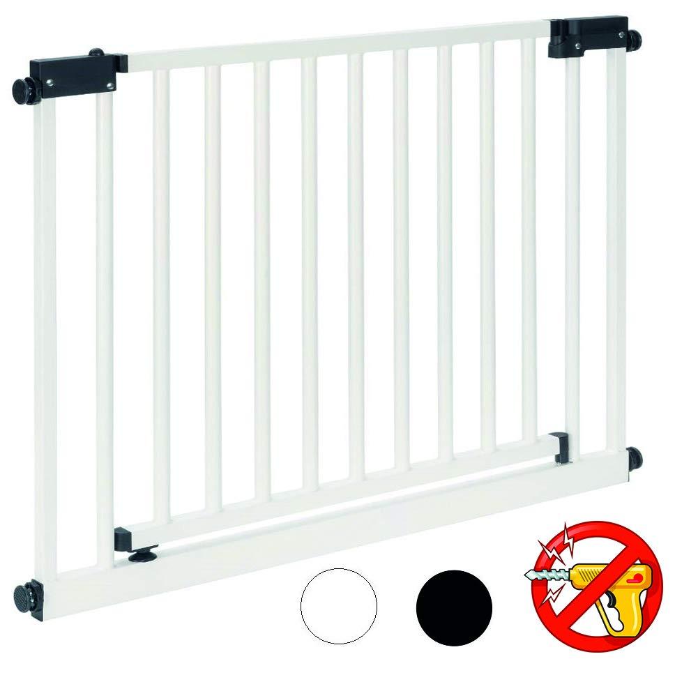 XXL Barrière sécurité   95 à 143 cm, ouverture 75cm   sans perçage S95-103 Impag GmbH
