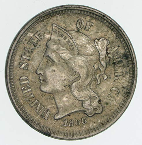1865-1876 Nickel Three Cent Piece G/VG ()