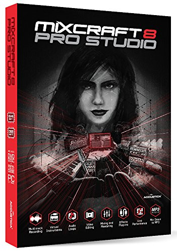 Mixcraft 8 Pro Studio Windows ACTA-881