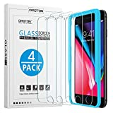 OMOTON Tempered Glass Screen Protector Fit for Apple iPhone 8/iPhone7/iPhone 6S/iPhone 6, 4.7 inch